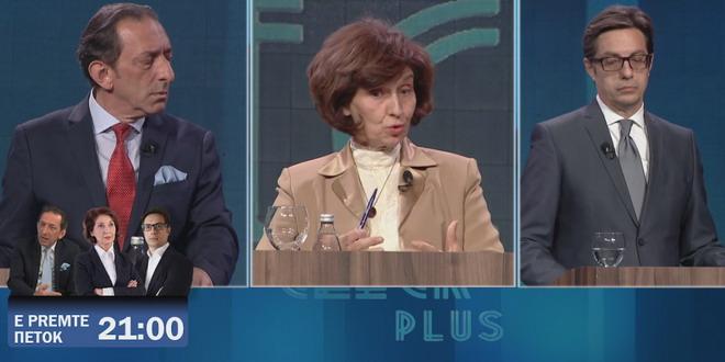 ТВ 21 ќе ја емитува последната претседателска дебата пред Изборите