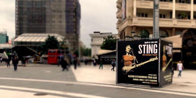 Фото | Концертот на Стинг со специјално продажно место и на Плоштад