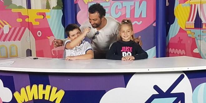 """Ненад се враќа на Алфа со детскиот ТВ проект """"Мини вести"""""""