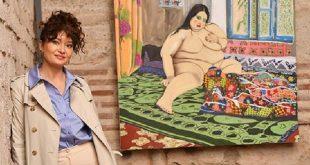 Фото | Во карантин, турската актерка реши да се занимава со цртање