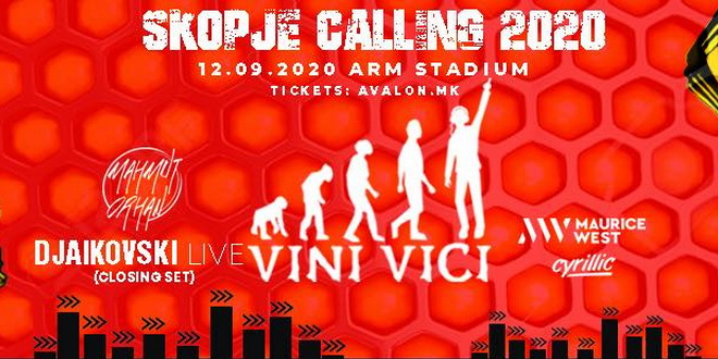 Skopje calling 2020 со нов датум – 12 септември на АРМ Стадион