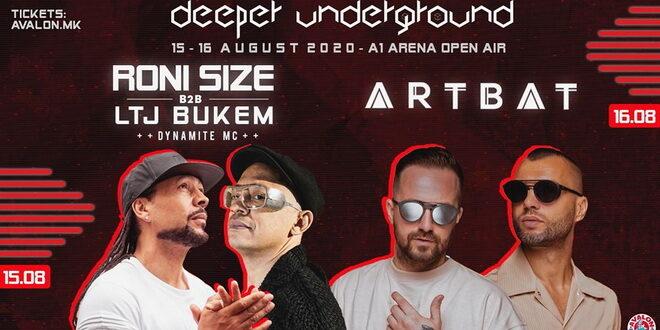 Deeper underground festival наместо во Охрид, ќе се одржи во Скопје