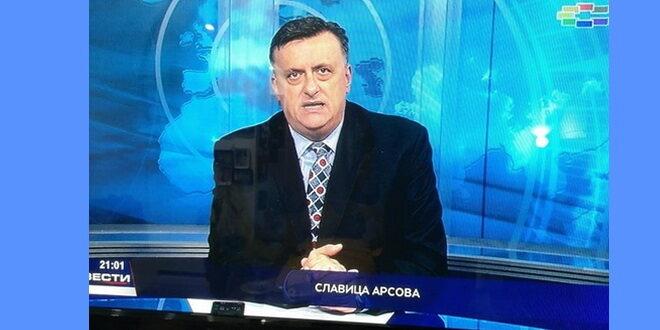 Фото | Валентин Николоски води вести на Сител како Славица Арсова